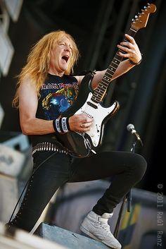 Janick Jers Iron Maiden