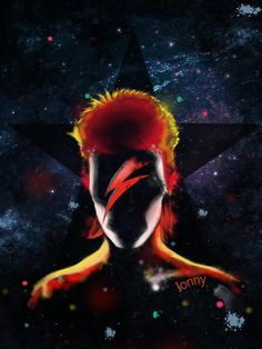 Queen David Bowie, David Bowie Art, Mayor Tom, Labrynth, Black Background Images, David Jones, Cool Posters, Concert Posters, Artist Names