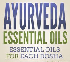 Maintaining the unique balance of each of the doshas is critical to your health and well-being. In Ayurveda, the use of essential oils can help bring balance to the doshas. This post will cover the bestAyurvedic Essential Oils for each body/mind type.