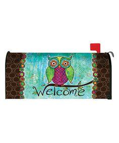 Look at this #zulilyfind! Rainbow Owl Mailbox Cover #zulilyfinds