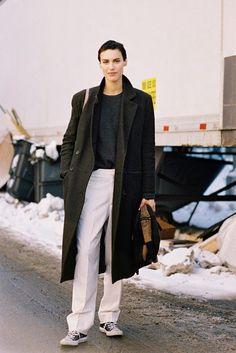 New York Fashion Week AW 2014....Alana