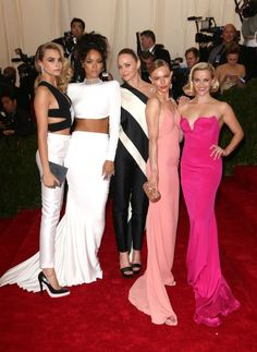 Met Ball 2014: Cara Delevingne, Rihanna, Stella McCartney, Kate Bosworth and Reese Witherspoon
