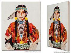 Dolan Geiman, American Heritage: Sister, BOX PRINT, 2013