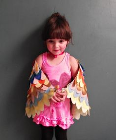 How to Make Dress Up Wings | Prudent Baby