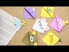 #RetoCrafty: lindos separadores de origami con personajes - YouTube