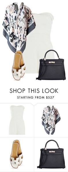 """:)"" by endonggg on Polyvore featuring Tamara Mellon, Hermès, women's clothing, women, female, woman, misses and juniors"