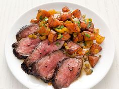 Steak with Sweet Potato Hash recipe from Food Network Kitchen via Food Network