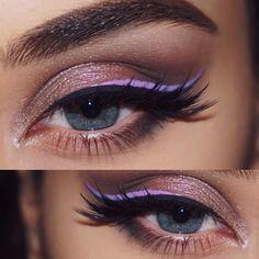 NYX cosmetics vivid brights by Ginashkeda makeup
