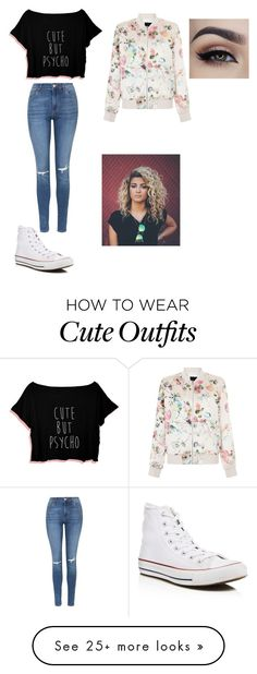 """""""$49.00 total outfit"""" by mizyona on Polyvore featuring Topshop, Converse, New Look and Dressunder50"""