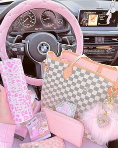 #bag #aesthetic #baginspo #pink #pinkbag #pinkvibes Pretty Pink Princess, Princess Girl, Pretty In Pink, Barbie Doll Set, Custom Starbucks Cup, Diy Father's Day Gifts, Cute Cars, Everything Pink, Wallpaper Iphone Cute