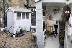 The Gardener's Room: Yards with Sheds