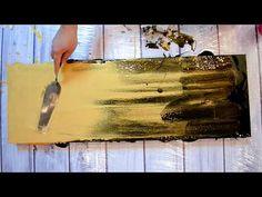 Peinture Acrylique Abstraite Facile - YouTube