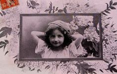 Antique French Postcard  Cute Little Girl by ChicEtChoc on Etsy, $4.50