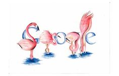 Pink flamingos Google --- there ya go, google