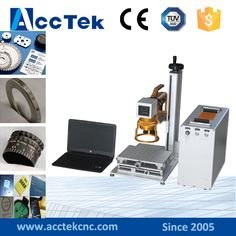 Germany ipg mini fiber laser marking machine for sale AK10F laser marking machine price  #Affiliate