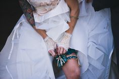 I will totally rock a flask garter at my wedding- promises!