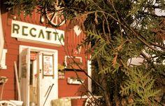 Punainen tupa ja perunamaa -Cafe Regatta | Asuntomessut