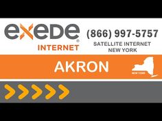 Akron satellite internet - Exede Internet packages deals and offers best internet service provider in Akron New York.