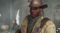 A character from #Fallout4. His name is Preston Garvey.  viathatdovelyfeeling  fallout twitter fawkes