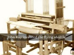 flying shuttle john kay - Google-haku