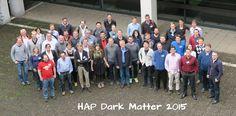 HAP Dark Matter 2015 Dark Matter, Scientists, Physics, Workshop, Soccer, Student, Album, Wedding Ring, Atelier