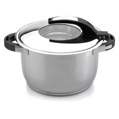 Discover the joys of cooking anew with the delightful Virgo 7 qt. Covered Stock pot from BergHOFF. This durably constructed casserole features a stainless steel body which allows for fast, equal heat distribution during cooking. Gotham Steel, Steel Stock, Pot Sets, Cooking Tools, Cooking Ware, Rice Cooker, Kitchenware, Tableware, Cooking