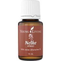 Nelke bzw. Gewürznelke ätherisches Öl von Young Living.