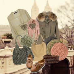 """Soft Autumn Notes"" by treanyrains ❤ liked on Polyvore"