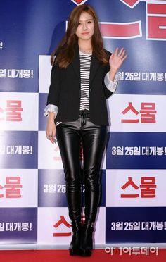 Leather Leggings, Leather Skirt, Asian Woman, Asian Girl, Kim So Eun, O Drama, Confident Woman, Korean Actresses, Celebs