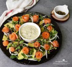Low Carb Diet Plan, Keto Meal Plan, Salad Recipes, Diet Recipes, Korean Food, Food Plating, Cobb Salad, Tapas, Meal Planning