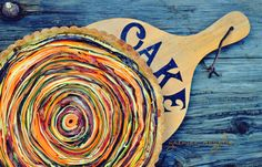 Garniec Magalie blog kulinarny: Tęczowa tarta warzywna