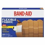 Johnson & Johnson Band-Aid Brand Flexible Fabric Adhesive Bandages for Wound Care and First Aid, All One Size, 100 Count, Tan Wound Care, Pad Design, Thing 1, Johnson And Johnson, First Aid Kit, Band Aid, Travel Essentials, Travel Tips, Boxer