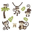 CoCo & Company Wall Decals - Monkey Time