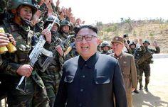 """Conflito - China afirma que """"nuvens de uma tempestade"""" cobrem a península coreana"""