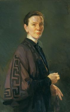 Women Painters - Cecilia Beaux (American, 1855 - 1942): Miss Marion...