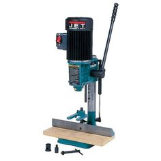 Mortising has never been easier or more accurate Model JET Benchtop Mortiser features include powerful 1 2 HP TEFC 1725 RPM motor for solid performance and trouble free