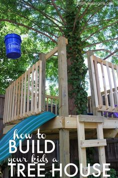 A small space didn't keep us from building a tree house! See how we made the most of our yard to create a tree house filled with everything a child dreams of. […