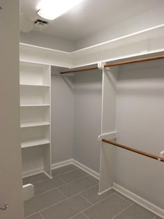 22 Must-See Closet Designs Buckingham, Apex ~ Master Bathroom Remodel - traditional - closet - raleigh - Wake Remodeling Closet Redo, Closet Remodel, Closet Makeover, Home, Bathroom Remodel Master, Bedroom Closet Design, Closet Designs, Remodel Bedroom, Closet Layout