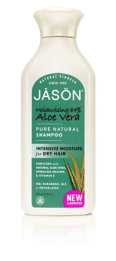BEST CONDITIONER for dry hair  Moisturizing 84% Aloe Vera Shampoo (ISAC Certified) | JĀSÖN - Natural Pioneer since 1959
