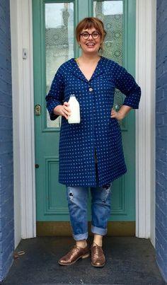 Sewing Patterns - Pattern Reviews for Lotta Jansdotter Pattern - Pilvi Coat…
