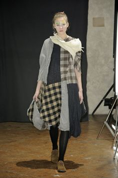 Daniela Gregis.  This would be cool in different colors, but I like the gingham.  Maybe faded or tea died.