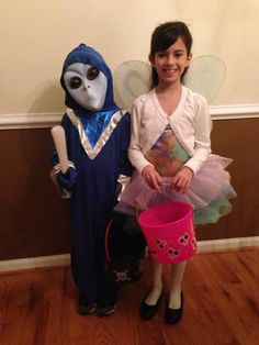 An alien and a fairy from Beth Taft DiPasquale