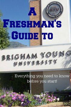 BYU Freshman's guide to BYU