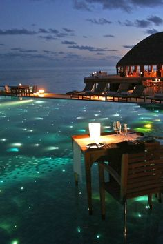 Huvafen Fushi Resort, #Maldives. #SuperyachtDestination perhaps? #ExpectTheExceptional www.blohmvossyachts.com