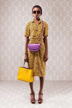 a84cefc20fb7 Kate Spade New York Pre-Fall 2019 collection, runway looks, beauty, models