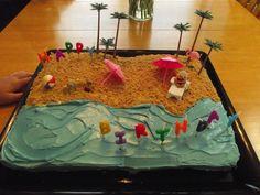 beach party birthday cakes - Google Search