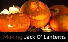 Read my easy to follow guide on making Jack O'Lanterns this Halloween!