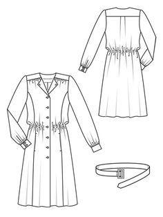 Shirtwaist Dress 09/2012 #114 - own it