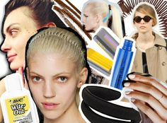 These Fashion Week Throwback Looks Are a Beauty Blast from the Past | Beauty Blitz