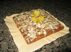 create this with organic ingredients for an even more scrumptious results:  http://www.justapinch.com/recipes/dessert/cake/almond-laced-banana-cake.html?source=fork_fb_c4_almond_banana_cake